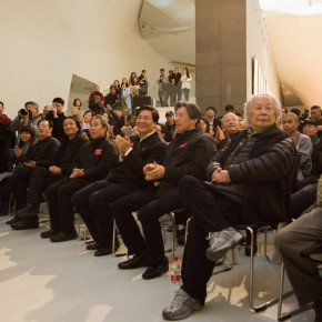 "13 View of the opening ceremony  290x290 - Reviewing the History While Looking into the Future: ""Life after Stepping out of Xiaowei"" Art Exhibition Unveiled at CAFA"