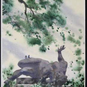 136 Ding Yilin, Under the Shape, 2000