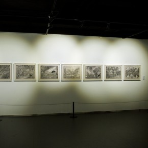 "14 View of the ""Pursuit of Excellence Artists from Academies – National Wide Tour Exhibition of Print 290x290 - Propagation of the Humanistic Spirit of Printmaking: ""The National Exhibition for Print"" opened at Dayuntang Art Museum"