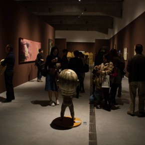 """15 Exhibition view of """"The Eye and the Mind"""" 290x290 - Intervention of the International Contemporary by Local Folk Artists: """"The Eye and the Mind"""" at Beijing Minsheng Art Museum"""