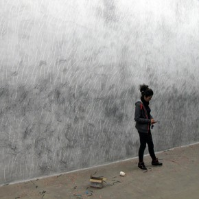 15 Exhibition view of Chung Hwa HB Li Di Solo Exhibition 290x290 - Through A Wall and A Work to Revisit the Origin of Painting: Chung Hwa HB – Li Di Solo Exhibition Opened at Yuan Art Museum