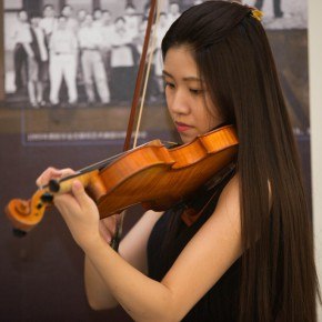 "15 Violinists played at the scene 290x290 - Reviewing the History While Looking into the Future: ""Life after Stepping out of Xiaowei"" Art Exhibition Unveiled at CAFA"
