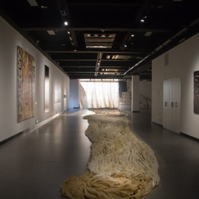 """16 Wang Youshens Work The Starry City Changsha 290x290 - The First Leap of Global Vision: The Fifth """"Art Changsha"""" was inaugurated"""