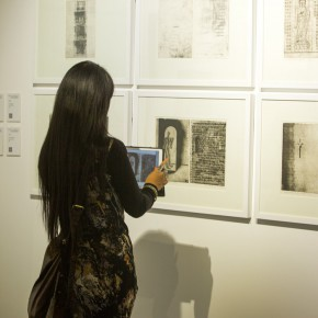 "18 View of the ""Pursuit of Excellence Artists from Academies – National Wide Tour Exhibition of Print 290x290 - Propagation of the Humanistic Spirit of Printmaking: ""The National Exhibition for Print"" opened at Dayuntang Art Museum"