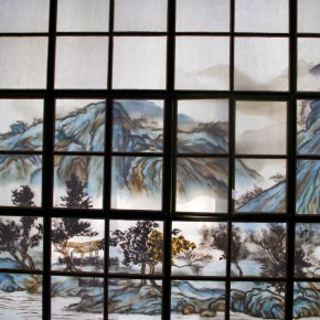"19 Xu Bing The Story Behind Beijing the Third Plastic Factory's Landscape of Mountains in Autumn 290x290 - KCCA announces its opening with the exhibition ""Three and One Thirds: Shang Yang × Liang Shaoji × Xu Bing"""