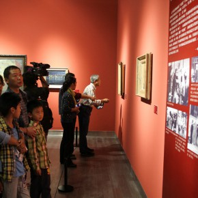 "20 Exhibition view of ""The Temperature of History""  290x290 - The Centurial Academy and Centennial Oil Paintings: ""The Temperature of History"" was debuted in Nanjing"