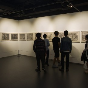 "22 View of the ""Pursuit of Excellence Artists from Academies – National Wide Tour Exhibition of Print 290x290 - Propagation of the Humanistic Spirit of Printmaking: ""The National Exhibition for Print"" opened at Dayuntang Art Museum"