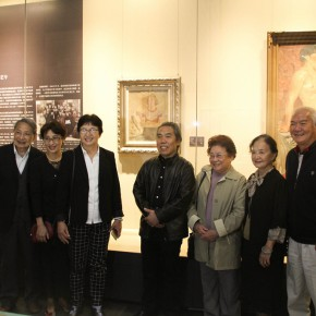 "24 Exhibition view of ""The Temperature of History""  290x290 - The Centurial Academy and Centennial Oil Paintings: ""The Temperature of History"" was debuted in Nanjing"