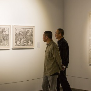 "26 View of the ""Pursuit of Excellence Artists from Academies – National Wide Tour Exhibition of Print 290x290 - Propagation of the Humanistic Spirit of Printmaking: ""The National Exhibition for Print"" opened at Dayuntang Art Museum"