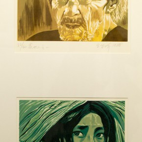 "27 The exhibited work1 290x290 - Propagation of the Humanistic Spirit of Printmaking: ""The National Exhibition for Print"" opened at Dayuntang Art Museum"