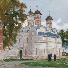 29 Ding Yilin, The Monastery of Suzdal, 80 x 100 cm, 2015
