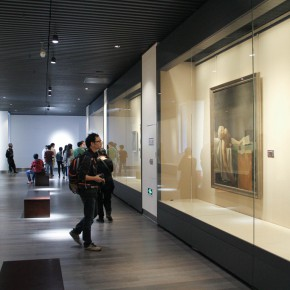 "29 Exhibition view of ""The Temperature of History""  290x290 - The Centurial Academy and Centennial Oil Paintings: ""The Temperature of History"" was debuted in Nanjing"