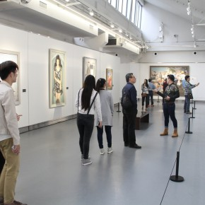 "32 Exhibition view of ""The Temperature of History""  290x290 - The Centurial Academy and Centennial Oil Paintings: ""The Temperature of History"" was debuted in Nanjing"