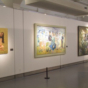 "35 Exhibition view of ""The Temperature of History""  290x290 - The Centurial Academy and Centennial Oil Paintings: ""The Temperature of History"" was debuted in Nanjing"