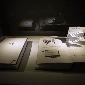"""36 Exhibition View of""""Diamond Leaves the Second Exhibition of Artists Books from around the World"""" 290x290 - Transformation of Printed Books: """"Diamond Leaves–the Second Exhibition of Artists' Books from around the World"""" unveiled"""