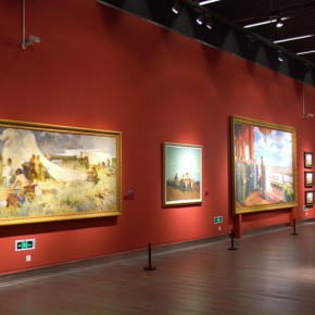 "39 Exhibition view of ""The Temperature of History""  290x290 - The Centurial Academy and Centennial Oil Paintings: ""The Temperature of History"" was debuted in Nanjing"