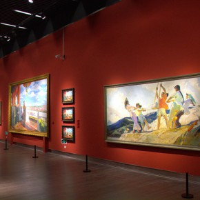 "40 Exhibition view of ""The Temperature of History""  290x290 - The Centurial Academy and Centennial Oil Paintings: ""The Temperature of History"" was debuted in Nanjing"