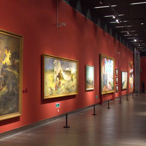 "41 Exhibition view of ""The Temperature of History""  290x290 - The Centurial Academy and Centennial Oil Paintings: ""The Temperature of History"" was debuted in Nanjing"