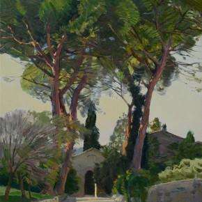 43 Ding Yilin, Farfa in the Twilight, 70 x 60 cm, 2014