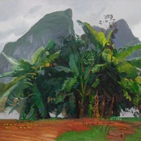 65 Ding Yilin, Banana Tress, 70 x 100 cm, 2013