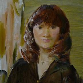 67 Ding Yilin, Portrait of Yu Dan, 60 x 50 cm, 2012