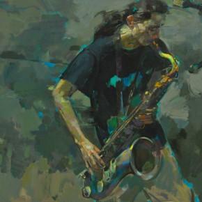 71 Ding Yilin, Sachs, 90 x 130 cm, 2012