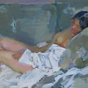 72 Ding Yilin, The Woman Nude, 80 x 60 cm, 2007