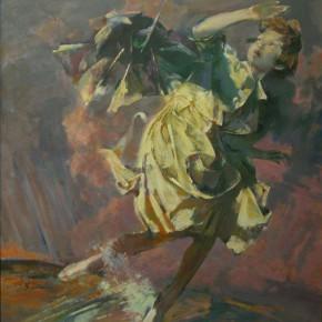 77 Ding Yilin, Dream No.5 Rain, 140 x 120 cm, 2004