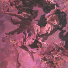 78 Ding Yilin, Dream No.4 Wind, 140 x 120 cm, 2001