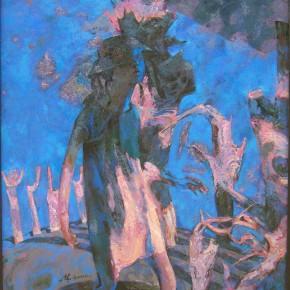 79 Ding Yilin, Dream No.3 Finding, 140 x 120 cm, 2000