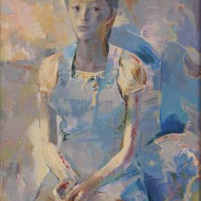 82 Ding Yilin, Adolescence No.1, 100 x 80 cm, 1998