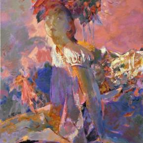 83 Ding Yilin, Adolescence No.2, 100 x 80 cm, 2009