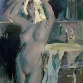 88 Ding Yilin, Bathing, 80 x 60 cm, 2006