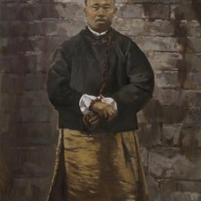 92 Ding Yilin, A Martyr of Xinhai Revolution – Ma Fuyi, 180 x 90 cm, 2011