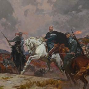 98 Ding Yilin, General Ji Hongchang, 180 x 200 cm, 2015