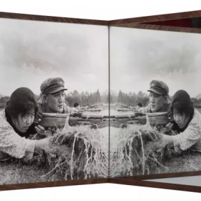 "Cai Dongdong Target Practice 2015 Gelatin silver print and mirror 53×53×53cm Edition of 6 290x290 - Hive Center for Contemporary Art presents ""Editing the Spectacle"" examining the individual and working methods Post-Mediatization"