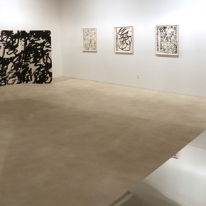 Installation View of Wang Dongling New Works 02