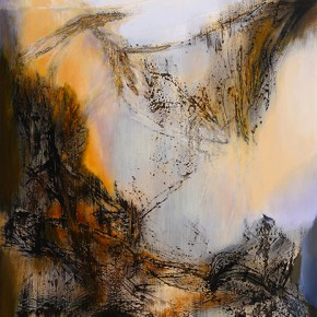 Yang Chihung Dusk 198X152.5cm Acrylic on Canvas 2012 290x290 - Eternal Present–Recent Paintings by Yang Chihung Exhibiting at Ueno Royal Museum, Tokyo