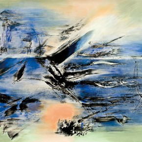 Yang Chihung Like The Spring Wind 152x203cm Acrylic on Canvas 2014 290x290 - Eternal Present–Recent Paintings by Yang Chihung Exhibiting at Ueno Royal Museum, Tokyo