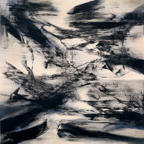 Yang Chihung Wind and Cloud 200x200cm Acrylic on Canvas 2012 290x290 - Eternal Present–Recent Paintings by Yang Chihung Exhibiting at Ueno Royal Museum, Tokyo