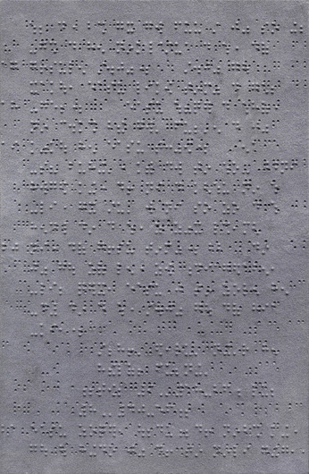 Zhang Huan, Mark No. 3, 2013; ash on linen, Courtesy of Zhang Huan Studio, Pace Gallery, Photo courtesy of the artist