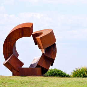 German artist Jörg Plickat was announced as the recipient of the Prize at the launch of Sculpture by the Sea, Bondi 2015
