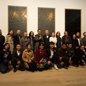 """01 Group photo of the honored guests 290x290 - Yang Art Museum brings together works by 25 artists with its opening exhibition """"Concealed Power"""" in Beijing Solana"""