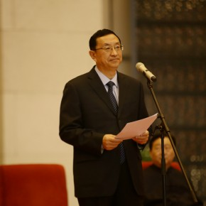 01 Minister of Chinese Ministry of Culture Luo Shugang addressed