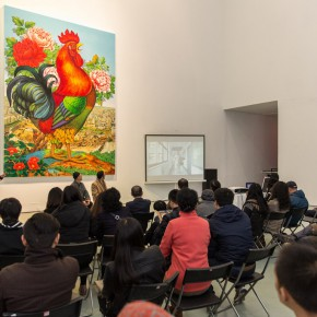 01 The Press Conference 290x290 - Starting Steadily from the Last Century: Lv Shengzhong Solo Exhibition Presented at Today Art Museum