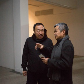 """02 Exhibition view of the Second Annual Exhibition of """"Poem, Chinese Calligraphy and Painting – West Lake"""""""