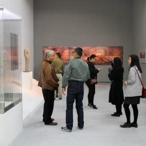 """02 Xia Xiaowan Floating Humanoids pastel 224 x 440 cm 2015  290x290 - Revolutionary Evolution in Rotary Way: Xia Xiaowan's Solo Exhibition """"Rotation"""" Debuted at Beijing Minsheng Art Museum"""