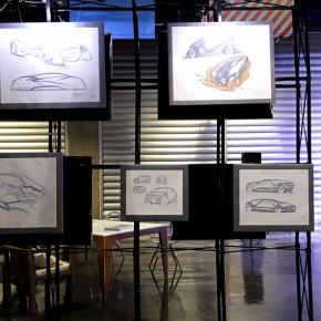 04 The manuscripts of the students of Transportation specialty of the School of Design CAFA were displayed at the scene  290x290 - Design, to Create the Future We Want! & the Launch Ceremony of the Future Design Lab