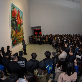 04 The opening ceremony 290x290 - Starting Steadily from the Last Century: Lv Shengzhong Solo Exhibition Presented at Today Art Museum