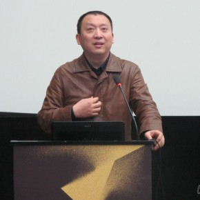 "05 Director of the Department of New Media Art at Sichuan Fine Arts Institute Prof. Zhang Xiaotao introduced the guests who were present at the forum  290x290 - ""The Fate of Image"": The Fourth International New Media Forum Unveiled at Sichuan Fine Arts Institute"